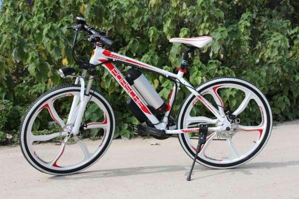 Электровелосипед Porshe 350W. Велосипед