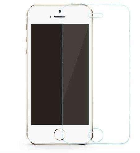 Стекло, протектор экрана 0.26мм для iPhone 5, 5s в Белово фото 3