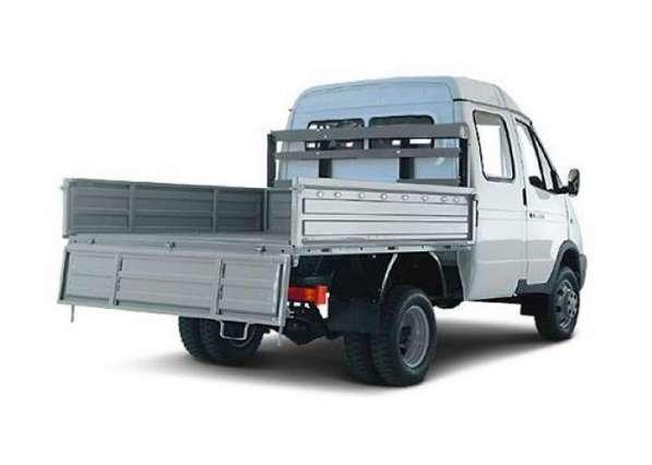 Платформа ГАЗ 3302+ борта (металлические)
