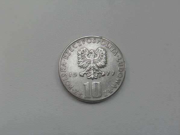 Монета 10 Злотых 1977 год MW Польша
