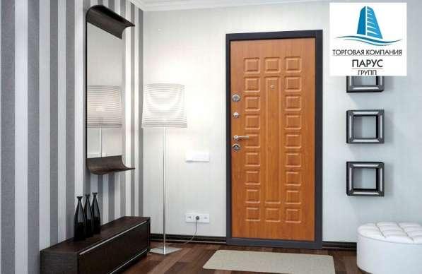 Двери внутреннего открывания в Краснодаре от ТК Парус