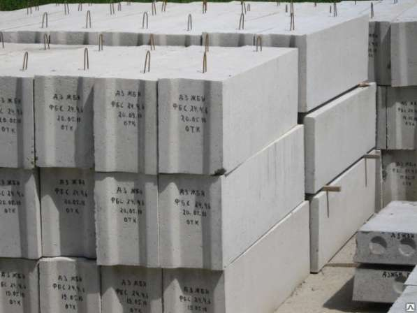 Блок ФБС-3, 120х30х60(ЖБИ блок)