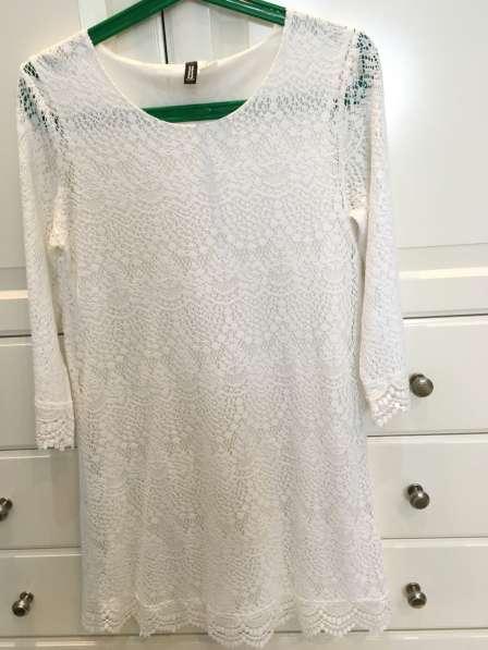 Платье кружевное H&M 38 р-р