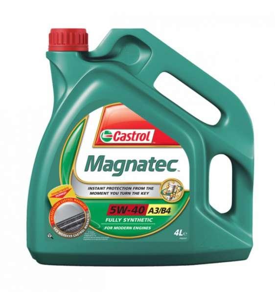 Масло моторное Castrol Magnatec A3/B4 5W40 синтетика 4литра