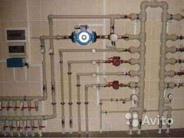 Монтаж пластикового водопровода, отопления