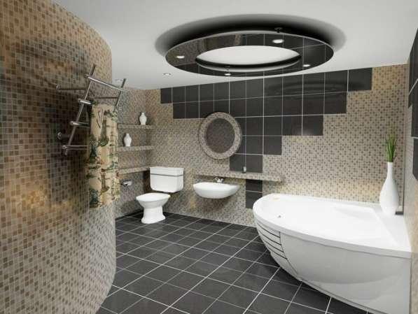 Ремонт ванной и туалетной комнат