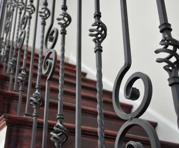 Кованые перила и кованые лестницы в Воронеже фото 5