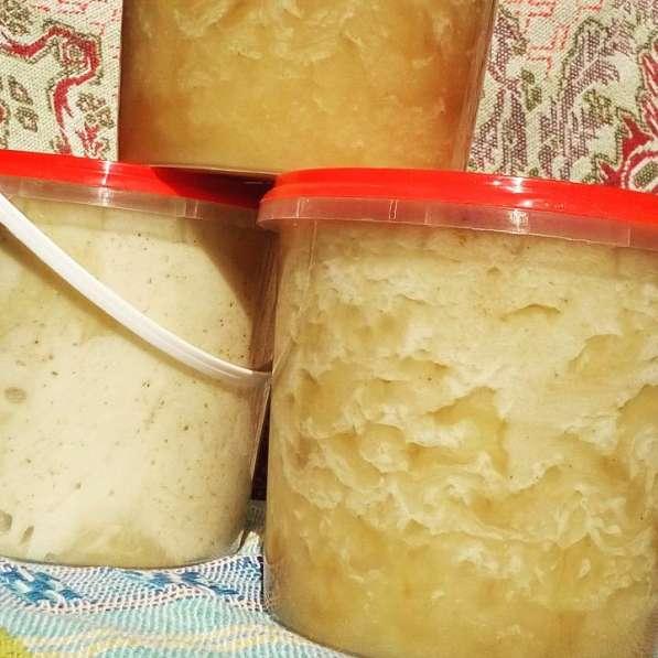 Натуральный свежий, летний мёд с забрусом