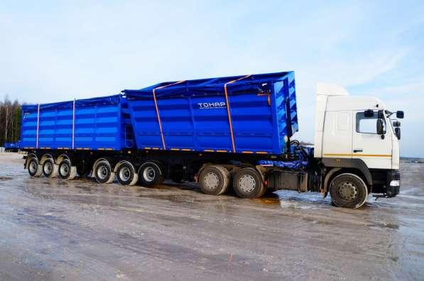 Зерновоз Тонар 95411 с боковой выгрузкой в Москве фото 3