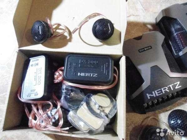 Hertz Твитера ET20 с кросоверами CX200
