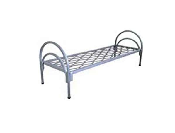 Кровать одноярусная с пружинной сеткой