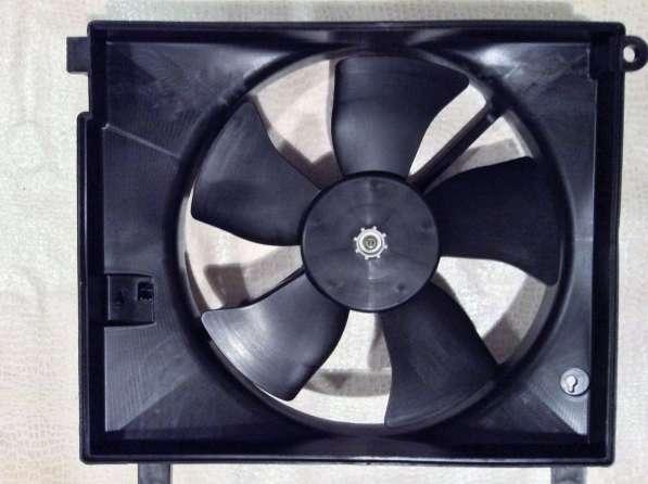 Вентилятор охлаждения радиатора 96184136 GM