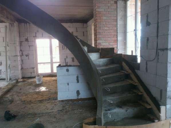 Монолитные лестницы любой сложности и фантазий