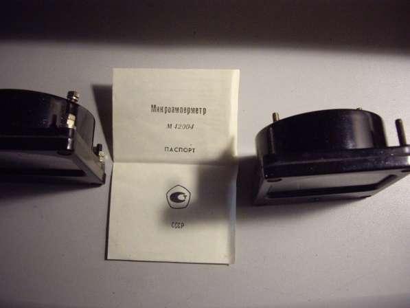 Микроамперметр М4204 2 штуки. в Челябинске фото 5