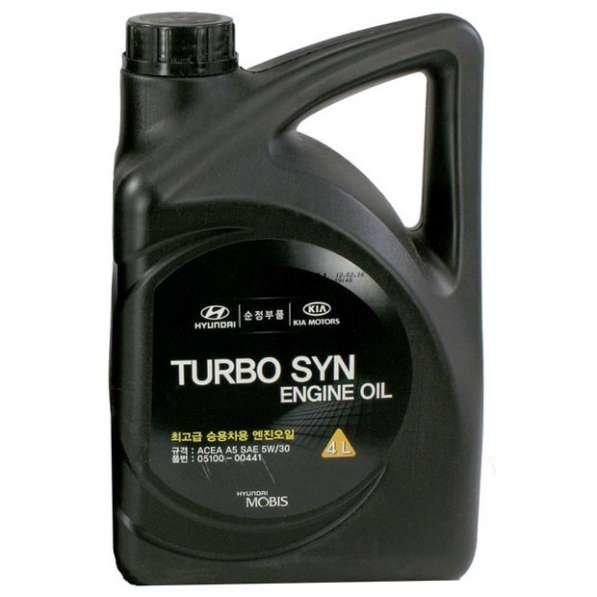 Масло HYUNDAI/KIA Turbo SYN Gasoline 5W30 SM/GF-4 4л синт
