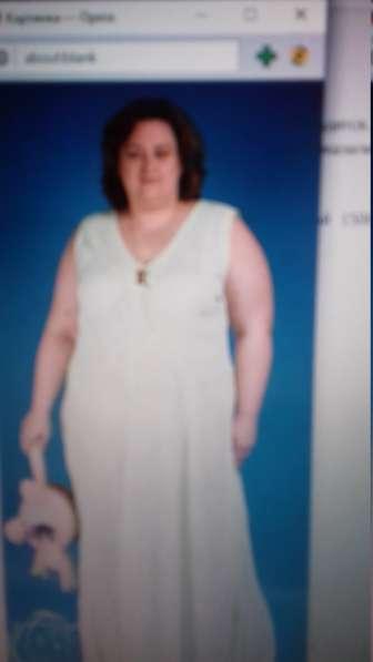 Платье марлевка на жару для пышных красавиц размер 74