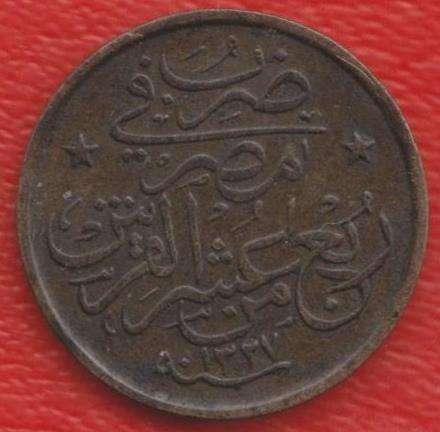 Египет Османская империя 1/40 гирша 1911 г.