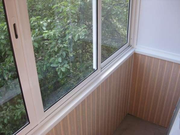 Остекление и утепление балкона в Иркутске фото 5