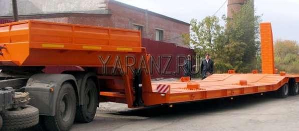 33. Трал пониженный ступенчатый 22,5 тонны, общей рабочей площадкой 11 метров, в том числе 7,5 метров грузовая платформа