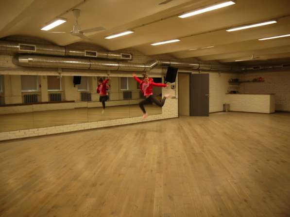 Обучение танцам в студии
