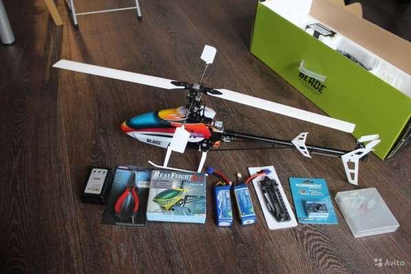 Радиоуправляемый вертолет Blade 450 3D + аккум