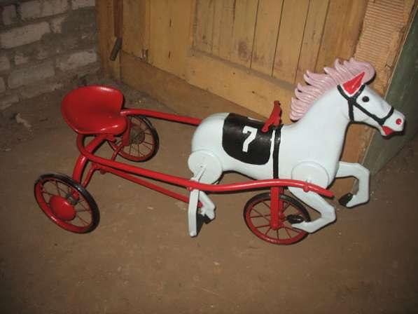 """Детская мечта """"Лошадь педальная"""" игрушка 60-х годов"""
