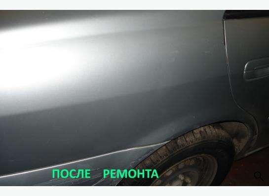 Удаление вмятин без покраски в Омске фото 3
