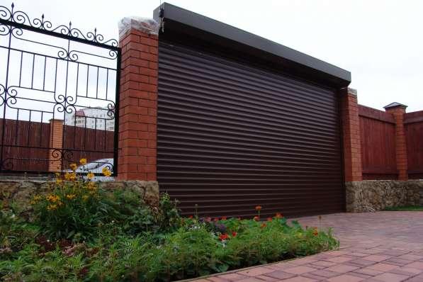 Ворота секционные, распашные, откатные, гаражные, роллеты
