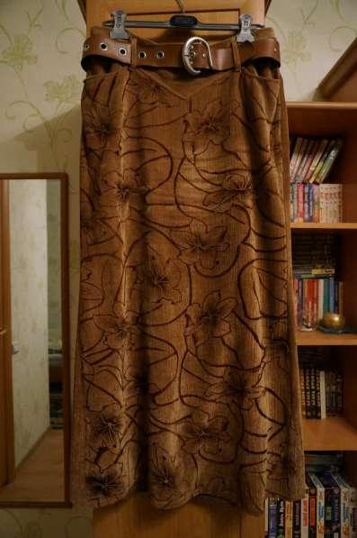 Костюм тройка пиджак, юбка, топ. р.48