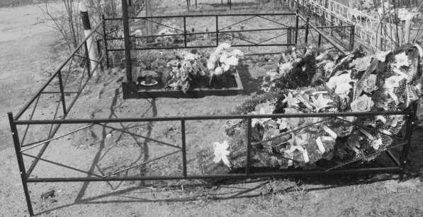 Ограды на кладбище в фото 5