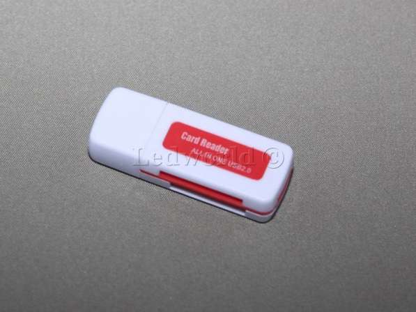 Компактный картридер All in 1 USB 2.0
