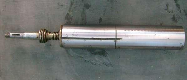 Пиноль задней бабки токарного станка 1К62, 16К20, 1М63
