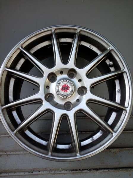 Продаются литые колесные диски GR, r15, сверловка