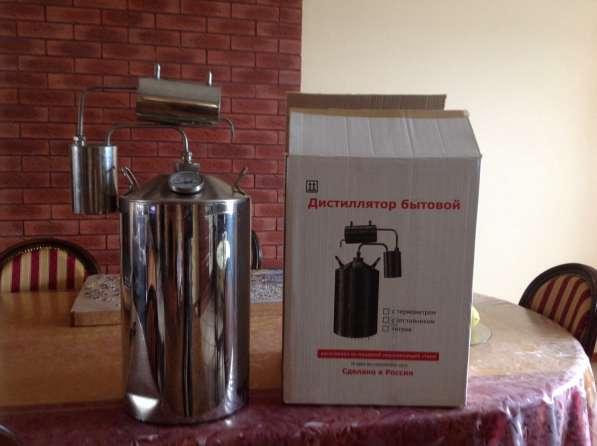 Продаётся дистиллятор бытовой объёмом 20 литров с термометро