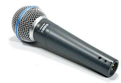 МИКРОФОН SHURE BETA58A вокальный НОВЫЙ.