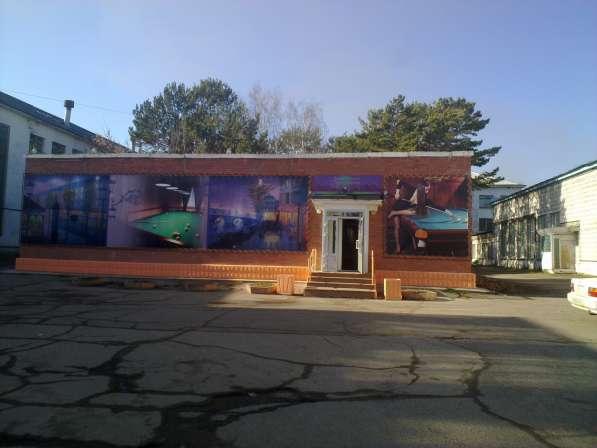 Продам здание с находящимся в нём бильярдным клубом и кафе