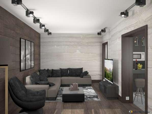 Дизайн интерьера комнаты, квартиры, дома. Уникальный стиль в Краснодаре фото 10