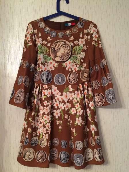 Платье горчичного цвета. Размер S/M