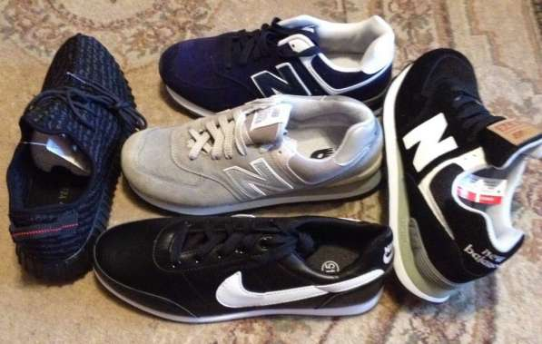 Кроссовки новые Nike, New Balance 574 и Adidds yeezy 350
