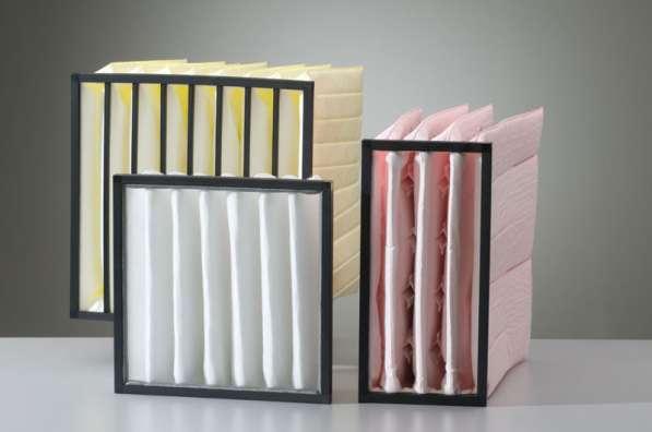 Воздушные фильтры для систем вентиляции собственного изготов