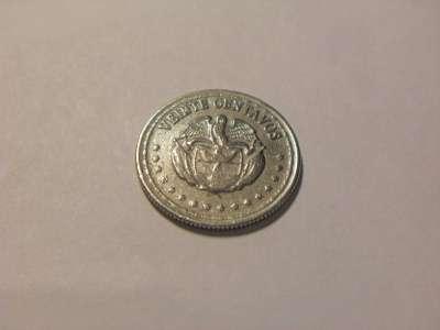 Монета 20 Сентаво 1959 год Колумбия