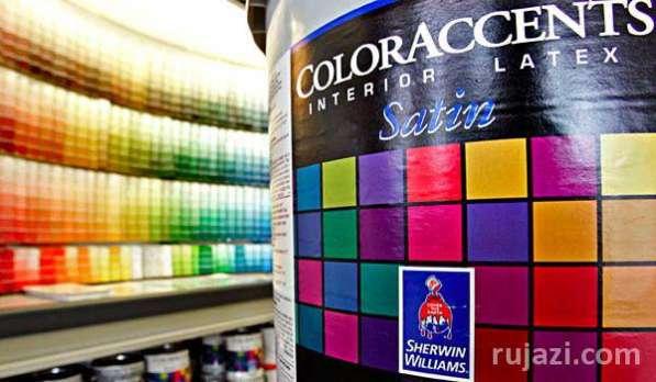 Штукатурки, лаки, краски, эмали, пропитки, герметики, смазки и промышленные покрытия различного назначения компании Sherwin-Williams.