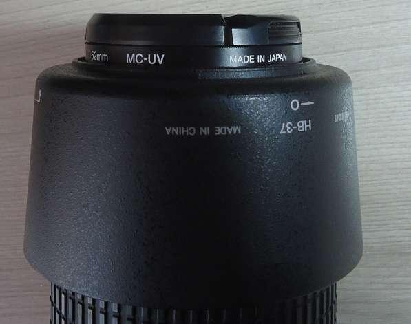 Продаю объектив Nikon DX AF-S Nikkor 55-200mm 14-5.6G ED VR в Самаре фото 3