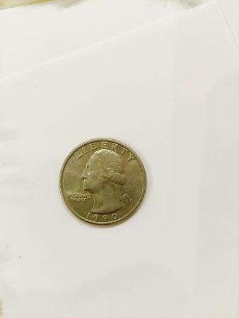 Продаю монету СШ LIBERTY QUARTER DOLLAR 1990 года, ПЕРЕ РТЫШ