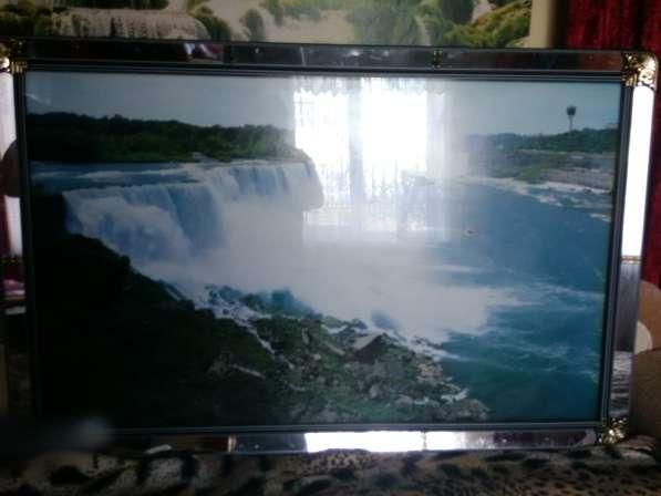 Фото картина водопад из Пуссана в Краснодаре