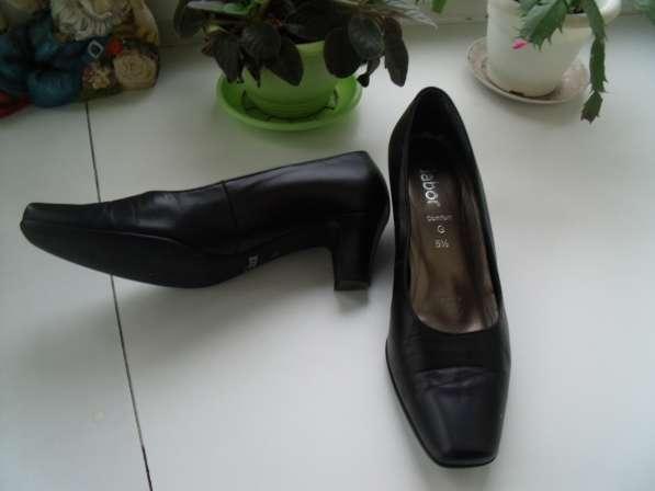Замечательные туфли Gabor р.38.5 - 39, обмен