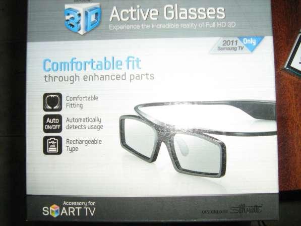 Продам очки 3-D для телевизора Samsung G-3500CR=(USB) в Иркутске фото 3