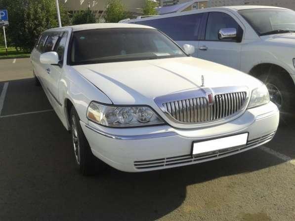 Прокат лимузина Lincoln Town Car и MB S-class W221 в Астане.