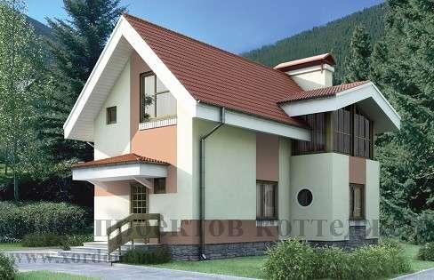 Строительство двухэтажного дома из кирпича 6x9,1