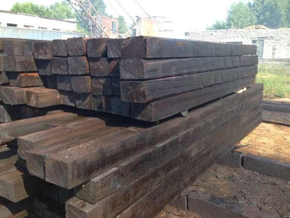 Шпалы деревянные всех типов